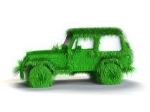 Ökologisches grünes Auto Lizenzfreie Stockfotografie