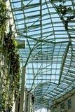 Ökologisches modernes Gebäude Stockfoto