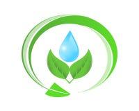 Ökologisches Symbol Lizenzfreie Stockfotos