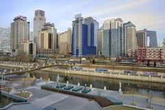 Ökonomische Mitten der CBD-Peking Stadt Stockfoto