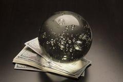 Ökonomische Prognose Stockfoto