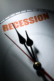 Ökonomische Rezession Stockbilder