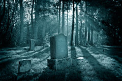 Ökyrkogård arkivfoton
