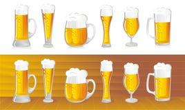 öl stock illustrationer