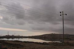 Öl in Aserbaidschan Stockbild