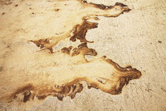 Öl auf Strand Lizenzfreies Stockbild