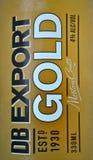 Öl för DB-exportguld Royaltyfri Foto