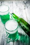Öl för gräsplan för dag för St Patrick ` s fotografering för bildbyråer