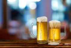 Öl för kallt ljus rånar Arkivbilder