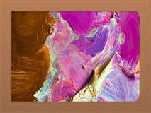 Öl-Farbenpalette für backgroun Lizenzfreie Stockfotografie