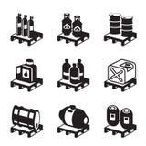 Öl, Gas und chemische Produkte Stockbild