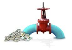 Öl-Gasgeschäft Lizenzfreie Stockfotos
