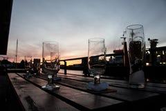 Öl glasses223 Arkivfoton