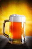 Öl i ett exponeringsglas Royaltyfri Bild
