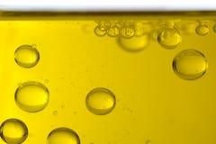Öl lässt Makro fallen lizenzfreies stockbild