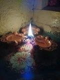 Öl-Lampe oder Durchmesser lizenzfreie stockfotos