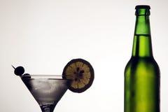 öl martini Royaltyfria Foton