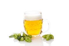 Öl med flygturfrukt på vit Fotografering för Bildbyråer