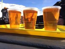 Öl på terrass Royaltyfri Fotografi