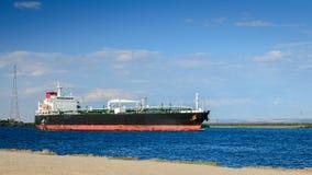 Öl-Produktentanker Stockfoto