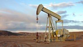 Öl-Pumpe stock video