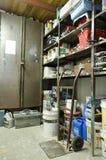 Öl-Sheva Israel - lager med hyllor, bearbetar och anmärker Royaltyfri Fotografi