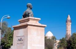ÖL-SHEVA ISRAEL NOVEMBER 13, 2009: Monument till brittGet Arkivbilder