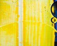 Öl sprudelt abtract Stockfotografie