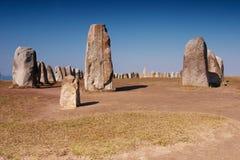 Öl stenar den megalitiska monumentet Royaltyfria Bilder
