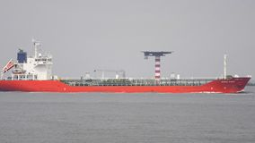 Öl-Tanker stock footage