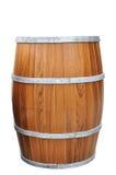 Öl Trumma-Forma som isoleras med den snabba banan. Fotografering för Bildbyråer