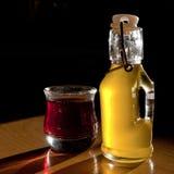 Öl und Essig Lizenzfreie Stockfotografie