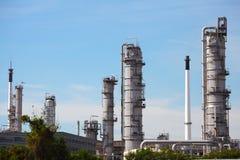 Öl-und Gas-Raffinerie-Anlage Stockbilder