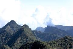 ölangkawi bergskedja Arkivbild