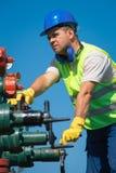 Ölarbeiter Stockbild