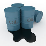 Ölbarrel Stockfotos