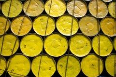 Ölbarrel vorangekommen lizenzfreie stockbilder
