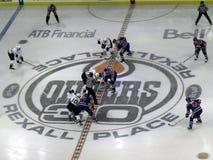 Öler gegen Mighty Ducks 4 Stockbild