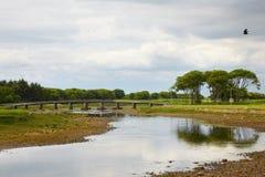 Ölerfilz-Fluss stockbilder