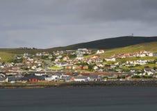 ölerwick shetland royaltyfri foto