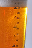 ölexponeringsglas Arkivfoton