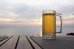 Ölexponeringsglas Arkivfoto