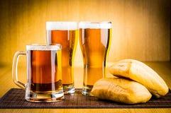 Ölexponeringsglas Fotografering för Bildbyråer