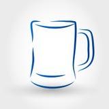 Ölexponeringsglas Royaltyfri Bild