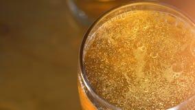 Ölexponeringsglas med bubblor, bästa sikt lager videofilmer
