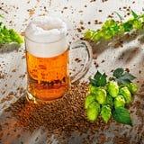Ölexponeringsglas och flygturer Fotografering för Bildbyråer
