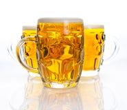 ölexponeringsglas tre Royaltyfri Fotografi