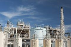 Ölfabrik Lizenzfreie Stockfotos