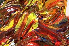 Ölfarbe Lizenzfreies Stockbild