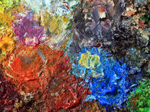 Ölfarbe Lizenzfreie Stockbilder